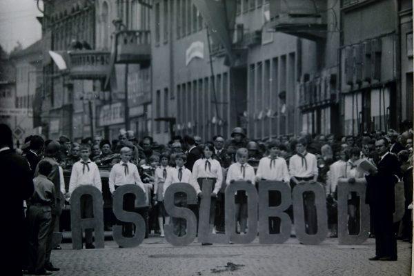 Fotky a zábery z osláv Dňa mesta spred 50 rokov
