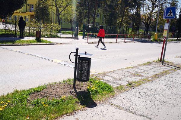 V meste pribúdajú nové odpadkové koše