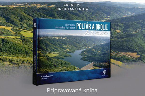 Predstavujeme ďalšiu unikátnu knihu z edície Slovensko z neba - Poltár a jeho okolie + súťaž o knihy