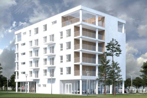 R. Sobota: Pri gymnáziu rozbehli výstavbu bytovky
