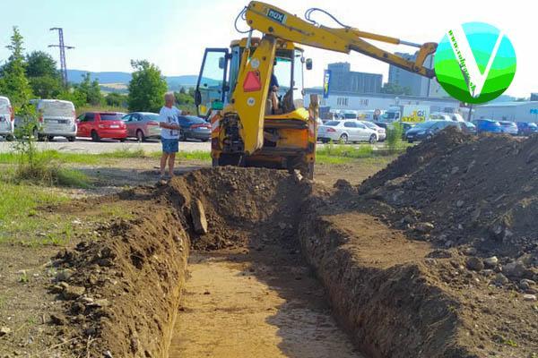 Pod budúcou stavbou Möbelixu robili archeologický prieskum. Hľadali mlynský náhon