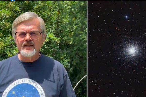 Pútavé rozprávanie o nočnej oblohe s Pavlom Rapavým. Padajúcich hviezd bude pribúdať + VIDEO