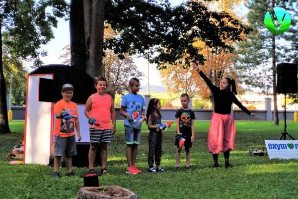Mestská záhrada opäť privítala detského diváka
