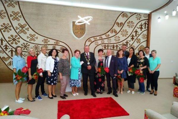 Na radnici mesta udeľovali ocenenie za najkrajší balkón a predzáhradku + foto