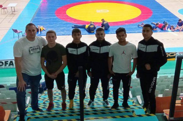 Zápasník Molnár dvakrát zlatý, prvenstvo si vybojoval aj Vydra
