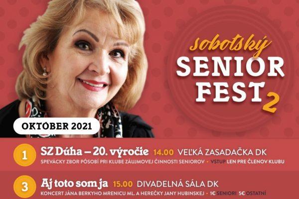 Prichádza október, ktorý v Dome kultúry prioritne venovali  úcte k seniorom