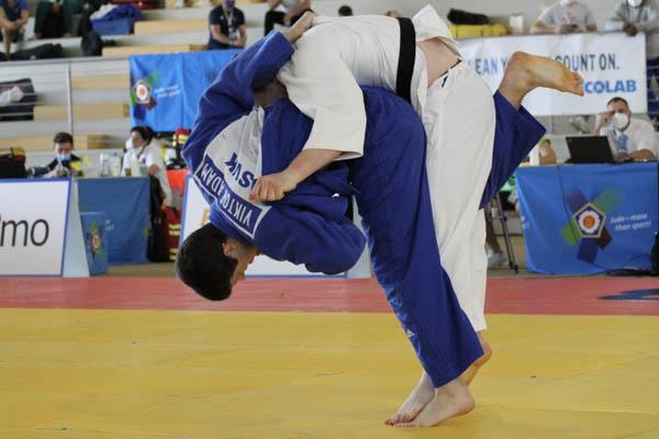 Džudista z R. Soboty skončil na európskom šampionáte piaty