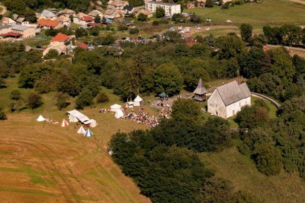 Stredoveký festival v Kraskove  + foto