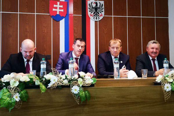 Boris Kollár navštívil R. Sobotu. Bude proti zrušeniu nemocnice