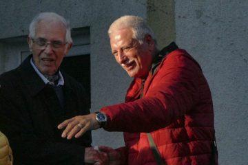 Peter Mináč (vpravo) a Dušan Sarvaš